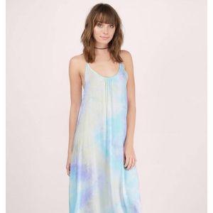 TOBI Rainbow tie-dyed Maxi, NWT